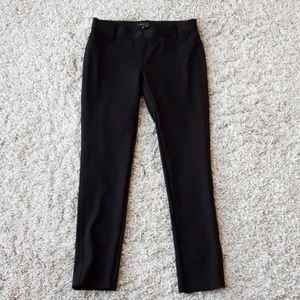 Theory Elly Rave style black pull on pants
